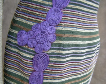 Embellished High Waisted Pencil Skirt