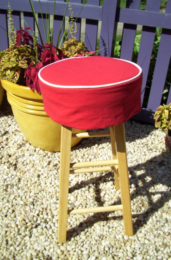 Bar Stool New 875 Bar Stool With Red Cushion