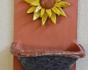 Indoor/Outdoor Sunflower Plant Pocket Item 1216