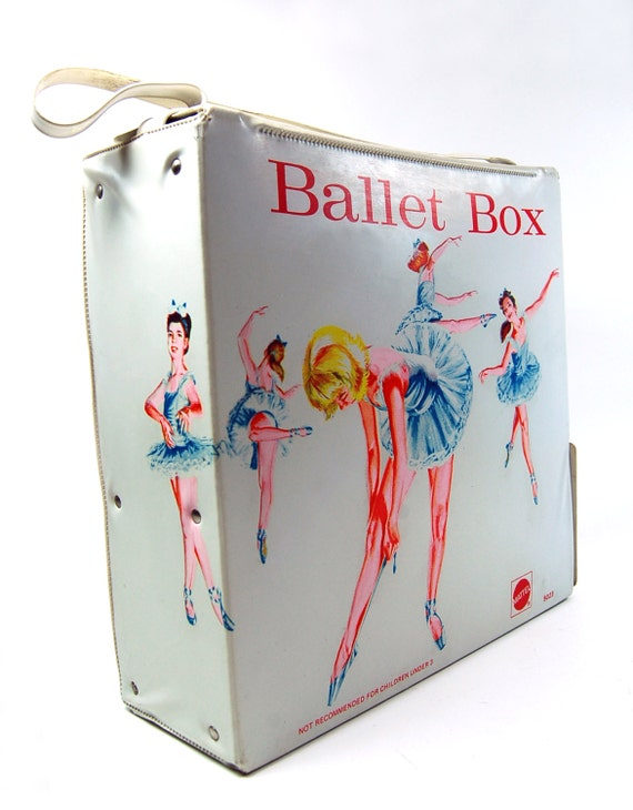 Mattel Ballet Box Dance Studio Shoe Carry Case
