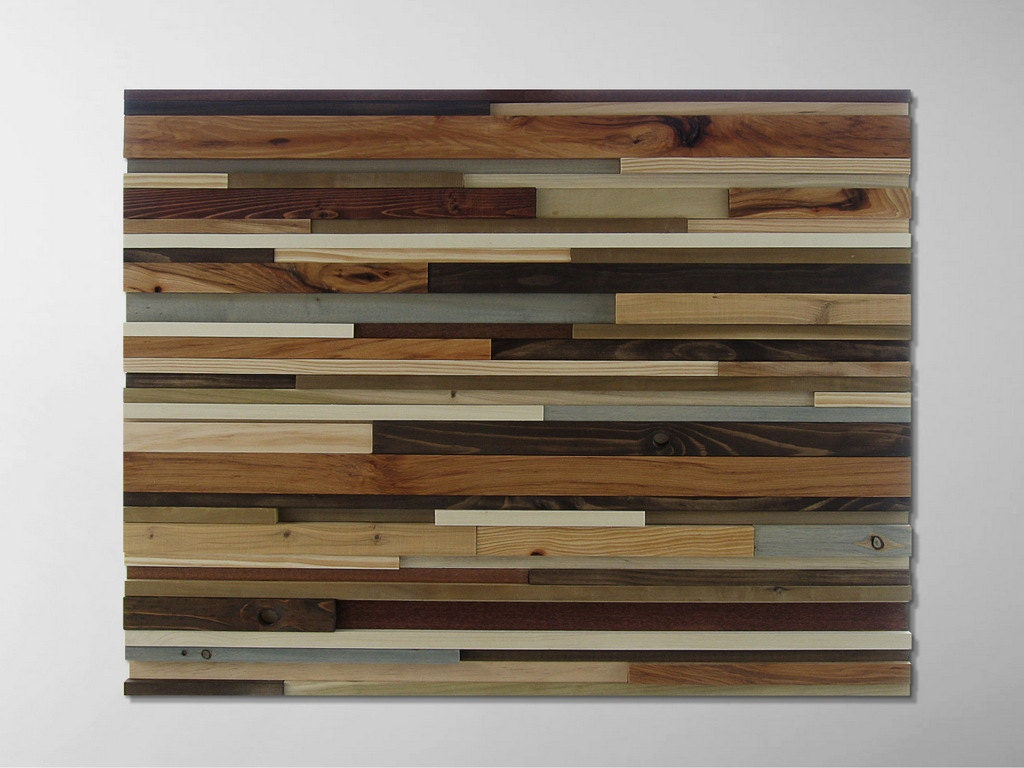 innovative reclaimed wood wall hanging 12