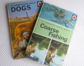 Vintage 1960s Ladybird Books Dogs and Coarse Fishing