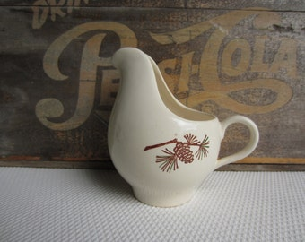 Vintage Pine Cone Creamer by Stetson