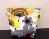 Sandwich Bag With Gusset Bottom Bold Floral