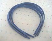 Royal Blue Plastic Headbands (4)