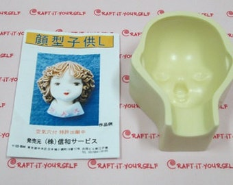 Girl Face Mould - L (CN000603)