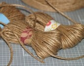 Hey Jute ... 15 Yards 3-Ply Twine Packaging Supplies Rustic Eco-Friendly Thin Rope Biodegradable Package Ties Brown String Gift Wrapping