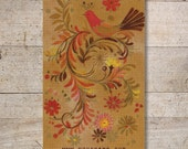 Business Cards - Custom Business Cards - Jewelry Cards - Earring Cards - Display Cards - Vintage Birds - No. 149