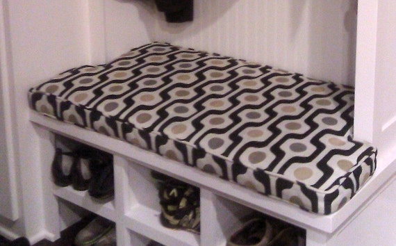 Items Similar To Mudroom Bench Cushion Notched Sides