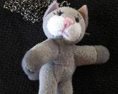 Plush Kitty Necklace