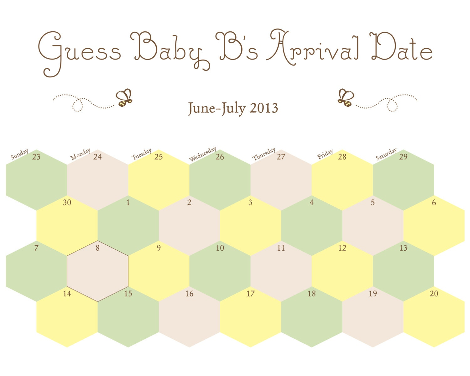 Printable Baby Due Date Template | Calendar Template 2016