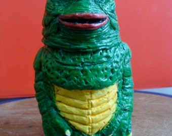 Gill-man Keepsake Holder jar(functional-art sculpture)*Made To Order*