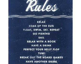 River House Rules 11 x 17