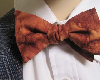 Carmel Butterscotch Bow Tie