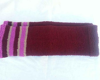 Hand Knit Leg ankle Warmers for Teen or Adult