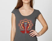 Chakras by Chill Clothing Co on American Apparel scoop in Asphalt