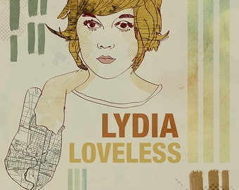 Lydia Loveless Poster - Limited Edition of 100 - 13x19 Inches