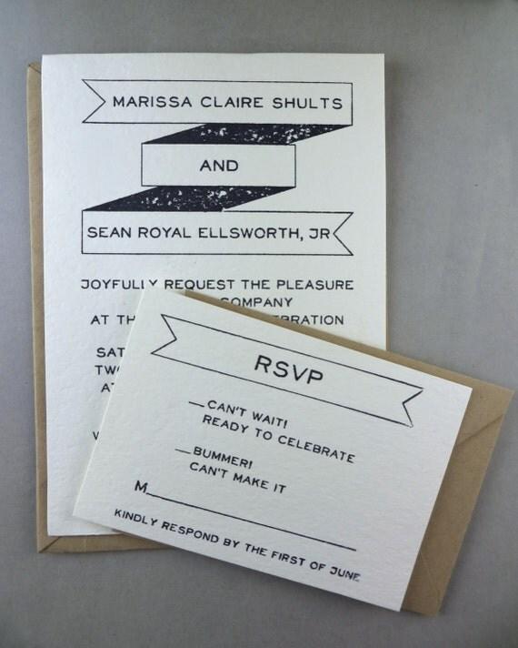 Wedding invitation stamp suite rsvp thank you return address for Wedding rsvp cards stamps