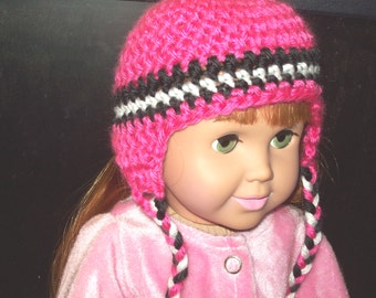 """18""""  doll clothes - Handcrafted Beanie Hat"""