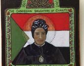 Saint Josephine Bakhita St Bakhita African Slave Sudan Child Retablo Catholic