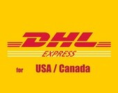 DHL // USD 24 Express Shipping Upgrade Rate - for International Orders - USA / Canada