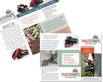 Custom Brochure Design and Business Card