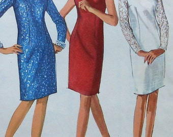 Vintage  Dress Sewing Pattern Simplicity 6291 Size 16