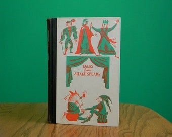 Vintage 1950s Tales from Shakespeare Book - Junior Deluxe Edition