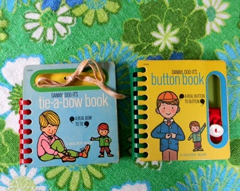 "Vintage Set of 2 ""Danny Doo It's"" Golden Books"