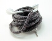 SALE Tangle-Free Earbuds in Calming Grey, Authentic Apple Earbuds