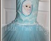 Frozen Elsa Snow Queen corset birthday Lt blue tutu dress Any size 12 months 18 months 2t 3t 4t 5t 6 7