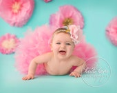 Pink Birthday Tutu | Pink Baby Skirt