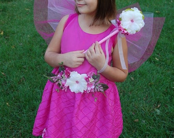 Pink Flower Fairy Costume