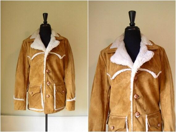 Shearling Rancher Coat | Fashion Women's Coat 2017