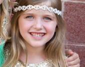Rhinestone Headband, Wedding Headband - Crystal Twist