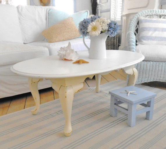Beach Chic Coffee Table: Coffee Table Shabby Chic Furniture Beach By Backporchco On