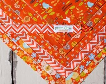 Set of 6 Mismatched Cloth Napkins