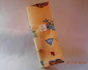 Floral  Crochet Hook DPN Case Yarn Organizer-5
