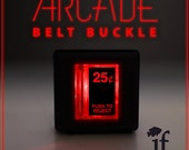Arcade Belt Buckle... that lights up
