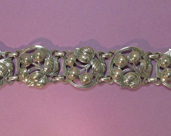 Kalo Silver Bracelet Arts and Crafts Early 1900s
