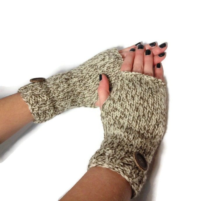Knitting Pattern For Texting Mittens : Knit Gloves Fingerless Mittens Texting Gloves Fingerless