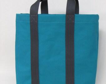 Canvas Tote Bag Teal
