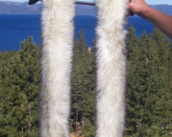 Attractive Faux Fur Long Scarf