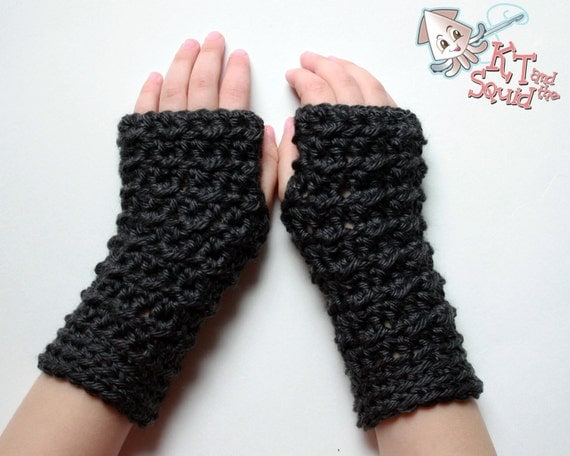 Crochet Pattern Fingerless Glove Pattern Permission To Sell