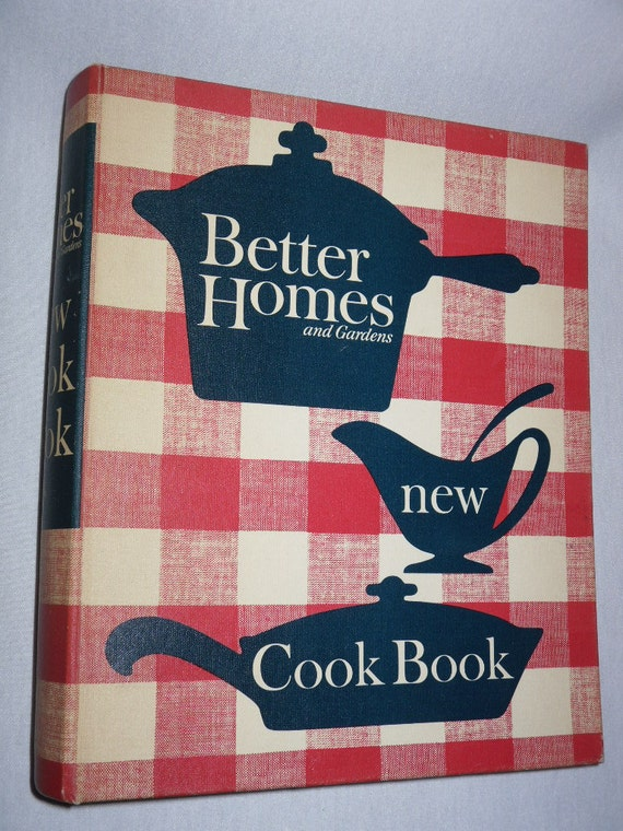 Vintage Better Homes And Gardens New Cook Book