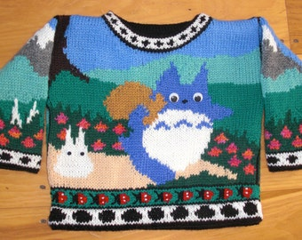 One Year Totoro Sweater