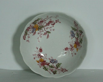 ridgeway english garden ironstone berry or cereal bowl staffordshire england