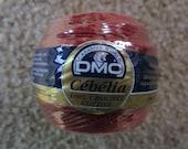 DMC Size No. 10 Cebelia 100% Cotton Crochet Thread Color No. 816 Art. No. 167GA