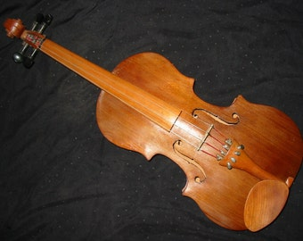 Cherry and Western Red Cedar Fiddle / Violin 4/4 Size, handmade