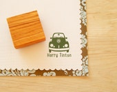 Custom VW Beetle Olive Wood Stamp